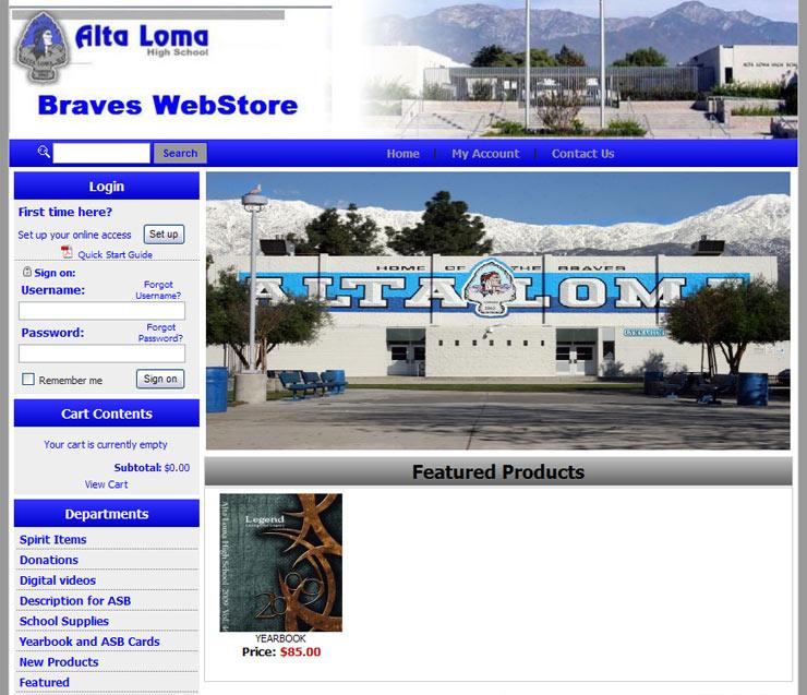 WebStore Examples